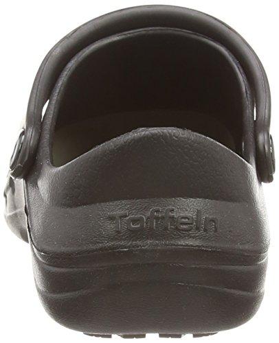 Toffeln Unisex-Erwachsene Sicherheitsschuhe, Eziprotekta 845 , Gr. 37 (Herstellergröße: 4), Weiß Schwarz (Schwarz)