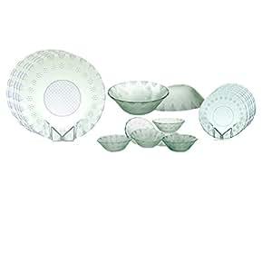 Yera International D-Light Dinner Glass Set, 20 pieces