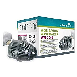 All Pond Solutions WM-3000 Aquarium Dual Powerhead Wave Maker, 3000L/H Flow Rate