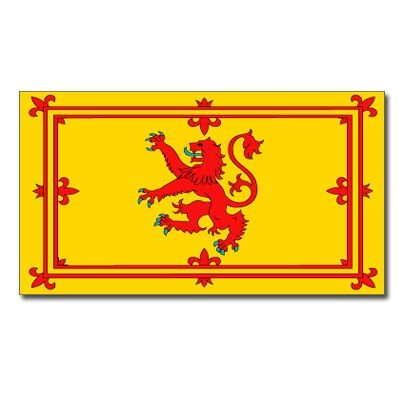 Scotland (Lion Rampant) 5' x 3' Flag