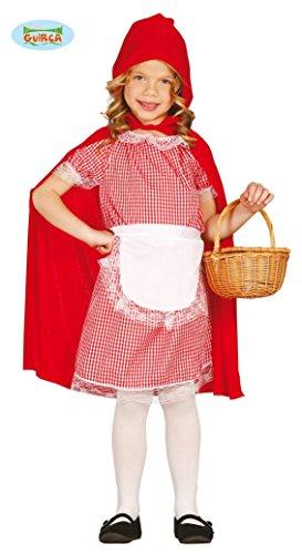 �m für Mädchen Gr. 110 - 146, Größe:128/134 (Böse Wolf Kostüm Kind)