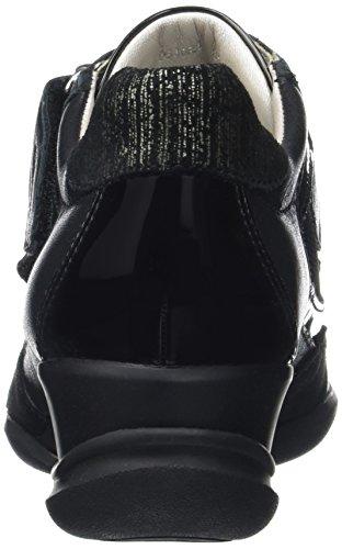 Geox D Persefone A, Baskets Basses Femme Noir (Blackc9999)