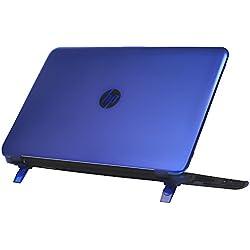 """Coque mCover pour les HP 15-auXXX (15-au000 - 15-au999) et HP 15-awXXX (15-aw000 - 15-aw999) (15.6"""" Pavilion 15-auXXX séries, Bleu)"""