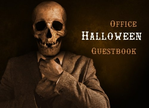 Halloween Guestbook: Scary Themed Halloween Party Guest Sign in Book, Office Halloween Theme (Halloween Themed Guest Book, Band 12)
