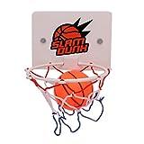 Funnyrunstore Tragbare Lustige Mini Basketballkorb Spielzeug Kit Indoor Home Basketball Fans Sport Spiel Spielzeug Set Für Kinder Kinder Erwachsene (weiß)