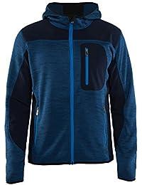 Blakläder 4930211788894X L Gr. 4X Große Strick Full Zip Hoodie–Navy Blau