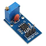 Haljia NE555 Pulse frequenza regolabile generatore modulo 5 - 12 V DC Compatibile con Arduino Smart auto Single Channel output Module 25 * 13 MM