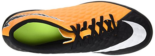 Nike Herren Hypervenomx Phade III TF Fußballschuhe Orange (Laser Orange/black-volt-white)