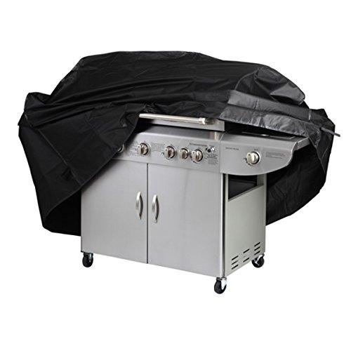 jojoo Barbecue Grill, 210d tessuto Oxford poliestere resistente con borsa, lunghezza fino a 67-Inch, Nero, (Jenn Air Gas Grill)