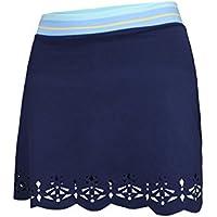Naffta Tenis Padel Falda-Corta, Mujer, Azul Marino, M