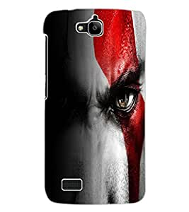 ColourCraft Eyes Design Back Case Cover for HUAWEI HONOR HOLLY