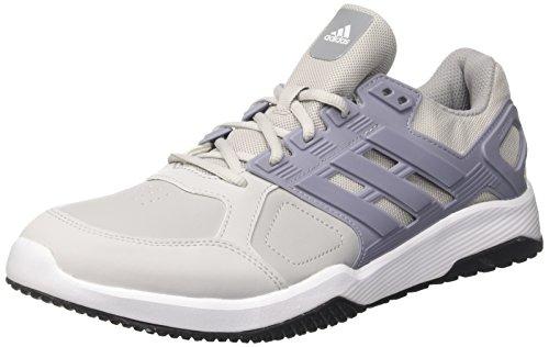 adidas Duramo 8 Trainer M, Zapatillas de Gimnasia para Hombre, Gris Two/Mid Grey/FTWR White, 40 EU