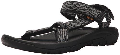 Teva m hurricane xlt2, sandali a punta aperta uomo, nero (rapids black/grey), 40.5 eu
