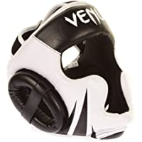 Venum Challenger 2.0 Casco MMA, Unisex adulto, Negro/Blanco, Única