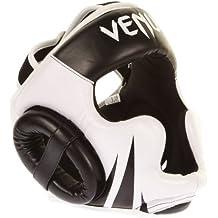 Venum Challenger 2.0 Casco MMA, Unisex adulto, Negro / Blanco, Única