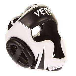 Venum Challenger Hook and Loop Strap Head Gear - Black