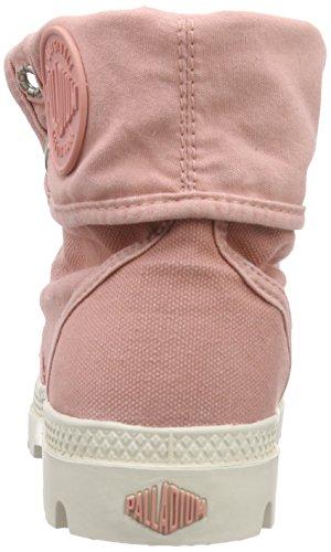 PalladiumBaggy - Stivaletti imbottiti Desert con imbottitura fredda Donna Rosa (Pink (Raspberry/Marshmallow))