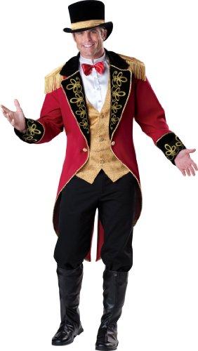 InCharacter - Zirkusdirektor Kostüm - - Für Erwachsenen Zirkusdirektor Kostüm