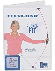 FLEXI-BAR® DVD Rückenfit - Barra de pesas, color multicolor