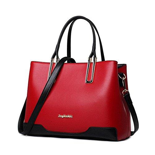 GBT Rote Schulter-Beutel-Handtasche der Frauen Red