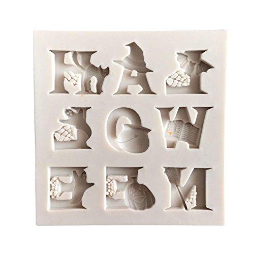 Halloween Silicone Moulds Süßigkeiten Formen Werkzeuge DIY Food Grade Silicone Mold Bake Mould Europäisches Muster Design