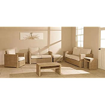 ira wicker rattan sofa sets ira 1011 natural amazon in home