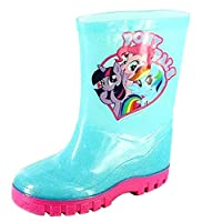 My Little Pony Girls Blue and Pink Wellies