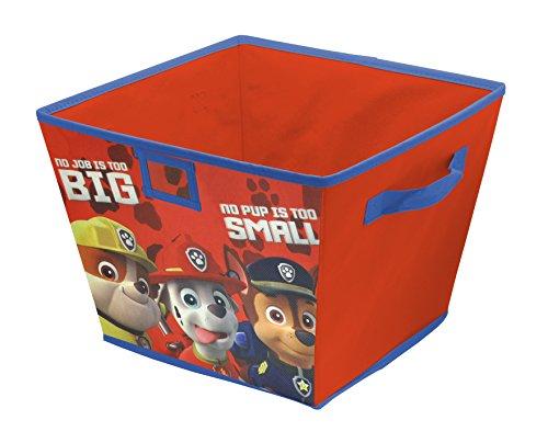 Nickelodeon Paw Patrol Stackable Storage Bin, 10 x 12.5 x 13