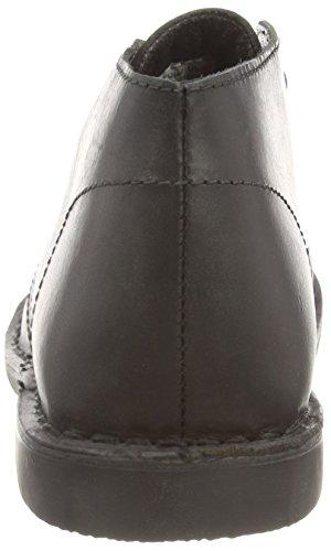 Red Tape Gobi Leather Herren Stiefeletten mit dünnem Futter Schwarz (Schwarz)