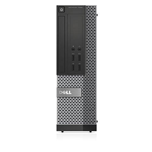 Dell OPTIPLEX 7020-8055 SF Desktop-PC (Intel Core i5 4590, 3,3GHz, 4GB RAM, 500GB HDD, Win 7 Pro) (Zertifiziert und Generalüberholt)