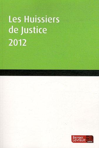 Les huissiers de justice par Berger-Levrault
