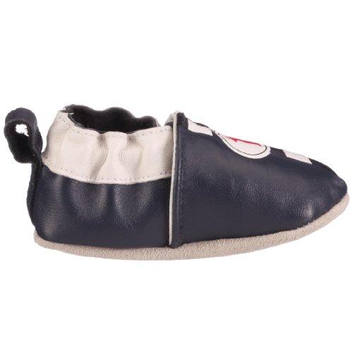 Playshoes Rennwagen 101650, Chaussures garçon Bleu