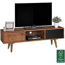 Tv lowboard holz hängend  Tv Rack Holz Weiß | ambiznes.com