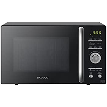 Daewoo KOR8A0R Touch Control Solo Microwave Oven, 800 Watt, 23 Litre