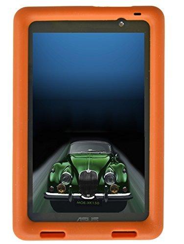 BobjGear   Carcasa resistente para tablet ASUS MeMO Pad 7 modelos ME176C, ME176CX, ME176CE, K013, K013C   funda protectora (Naranja)