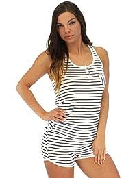 Pyjama Heaven léger pour femme ensemble vêtement de nuit avec short et haut sans manches