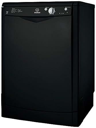 Indesit IDF125K Free Standing Dishwasher in Black A energy rating