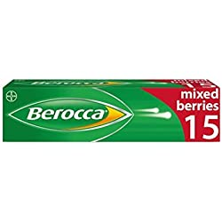 BEROCCA Multi Vitamin Effervescent Mix Berry 15, 100 g
