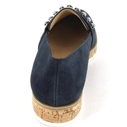 Paul Green, Blau Femme Mocassins