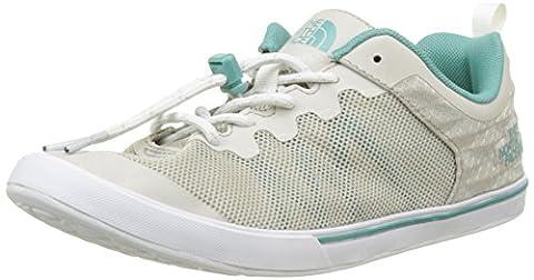 The North Face T92UXOTSV 10H, Chaussures de Running Femme, Gris (Ivory), 41.5 EU
