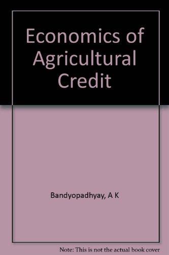 economics-of-agricultural-credit