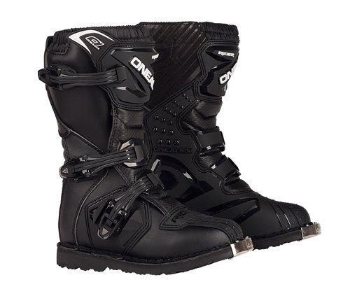 O'Neal Kids Rider Boot Schwarz Kinder MX Stiefel Moto Cross Enduro, 0324KR-1, Größe 33