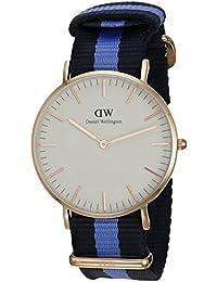 Daniel Wellington Damen-Armbanduhr Classic Swansea Lady Analog Quarz Nylon 0504DW