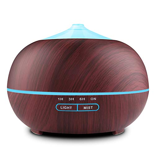 Tenswall 400ml Aroma Diffuser LED Luftbefeuchter Ultraschall