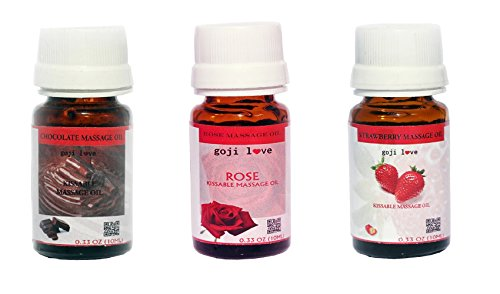 Massage oil-Gojilove Kissable Massage Oil Combo Of 3 (Gjms000)