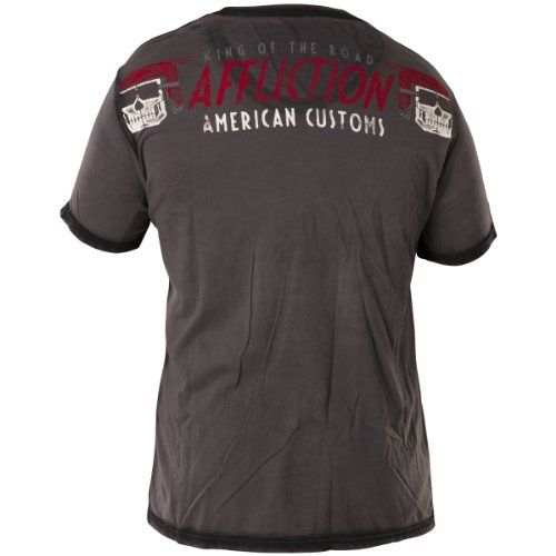 Affliction T-Shirt Kings Road Schwarz