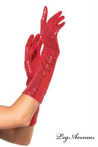 Leg Avenue 2116 - Ellenbogenlange Handschuhe, (Fashion Flapper Kostüme Red)