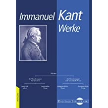 Immanuel Kant: Werke. CD-ROM für Windows ab 95 (Mac: ab MacOS 10.2)