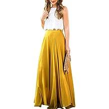 Faldas, Challeng Vestido de fiesta atractivo de la playa de la alta calidad del vestido de fiesta de la playa de la impresión vestido largo de gasa con ...