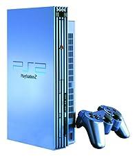 Sony Playstation 2 Console, Aqua (Blue) Limited Edition